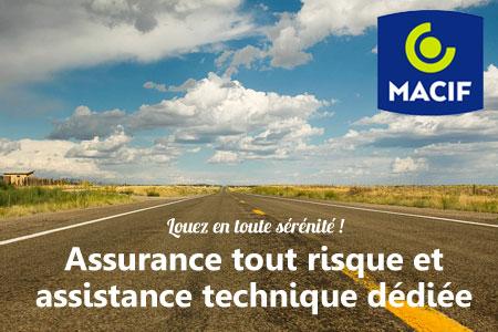 En toute sérénité ! Assurance multi-risques et assistance technique dédiée